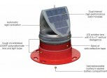 Baliza Solar AV70 Con Soporte