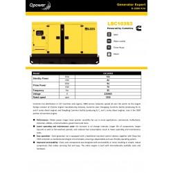 Generador QPOWER 100KVA
