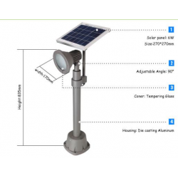 Solar Spot Light - 270 Lúmenes