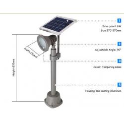 Solar Spot Light - 270 Lúmenes