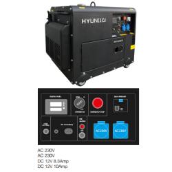 Generador Hyundai 6,25 Kva - Insonorizado