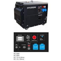 Generador Hyundai 7,5 Kva - Insonorizado