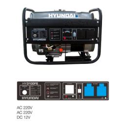 Generador Hyundai 3,1 Kva - Arranque Eléctrico